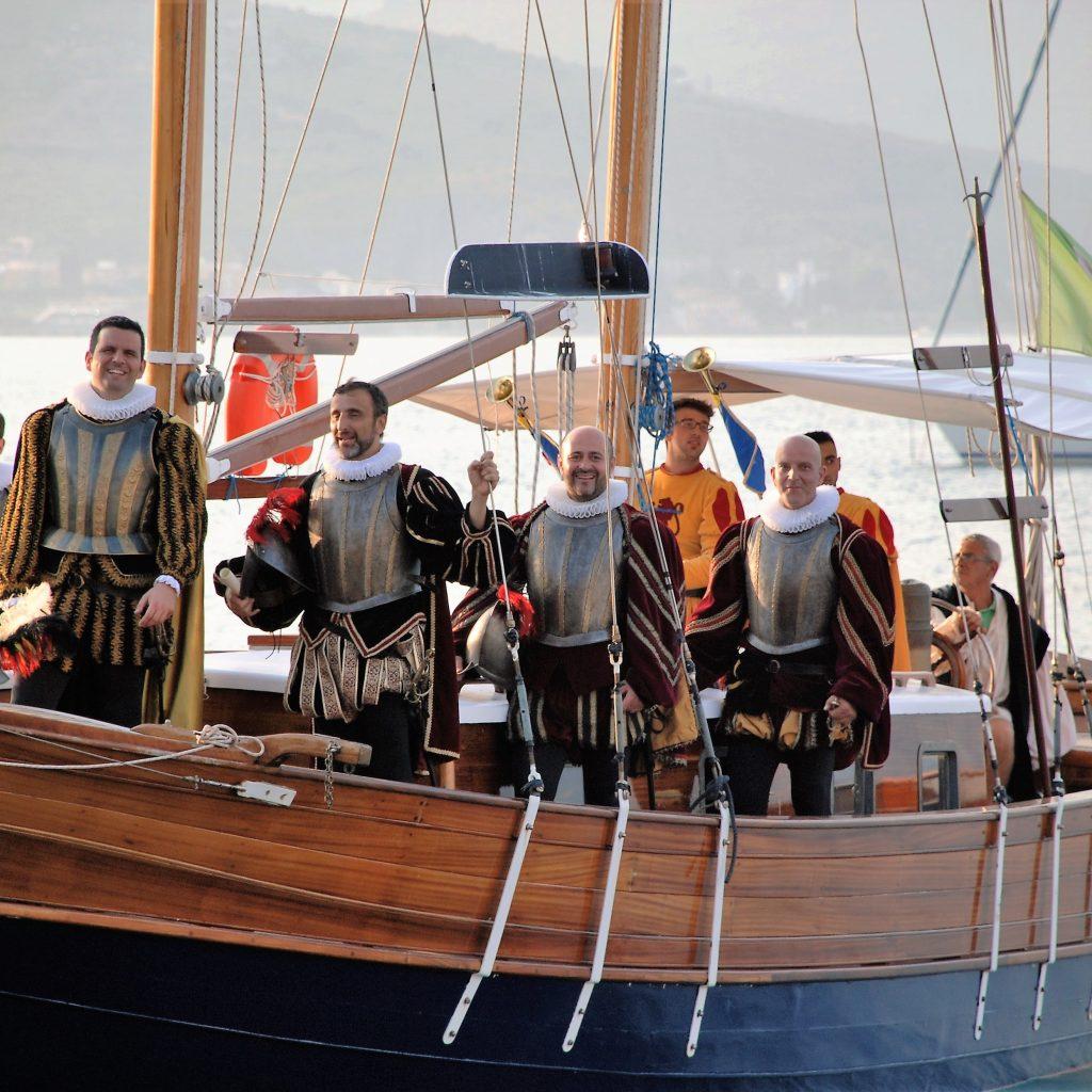 Rievocazione storica dello sbarco di Marcantonio Colonna